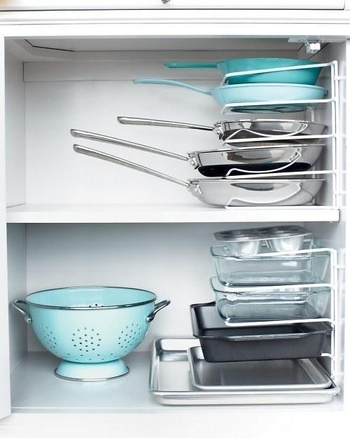 10 έξυπνοι τρόποι αποθήκευσης & εξοικονόμησης χώρου για μικρές κουζίνες